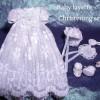 Baby's Christening set