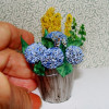 A bucket full of flowers…