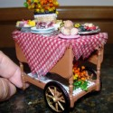 Tea cart ready for picnic
