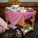 Tea cart ready for picnic