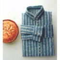 Shirt denim blue stripe