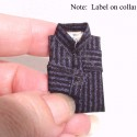 Shirt dark blue stripe