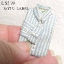 Shirt light blue stripe
