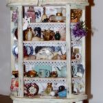 Shabby Chic display armoire