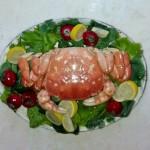 Large crab platter